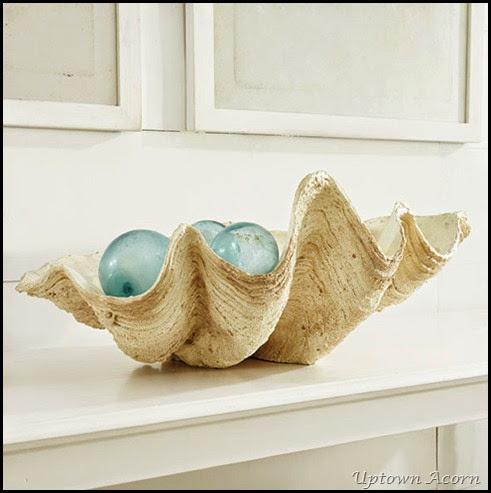 Wisteria decorative oyster bowl