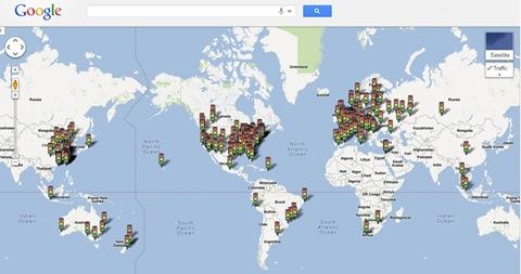 estado de tránsito en google maps