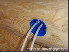 электрификация сруба бани