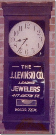 Jewelers Clock