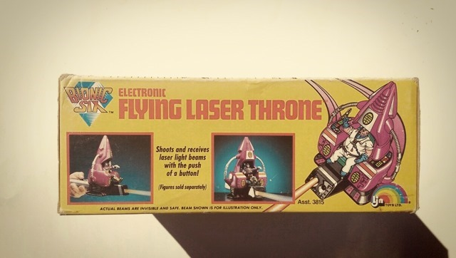 Bionic Six Electronic Flying Laser Throne
