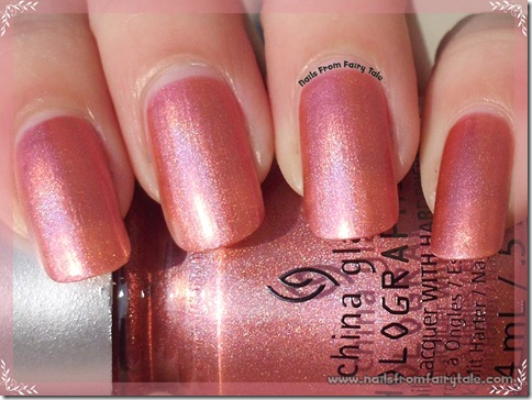 China Glaze Hologlam Collection – Not in this Galaxy