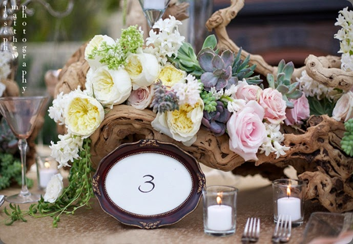 succulent-rustic-vintage-wedding-centerpiece-table-number-frame aileen tran