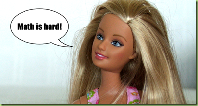 barbie-hates-math