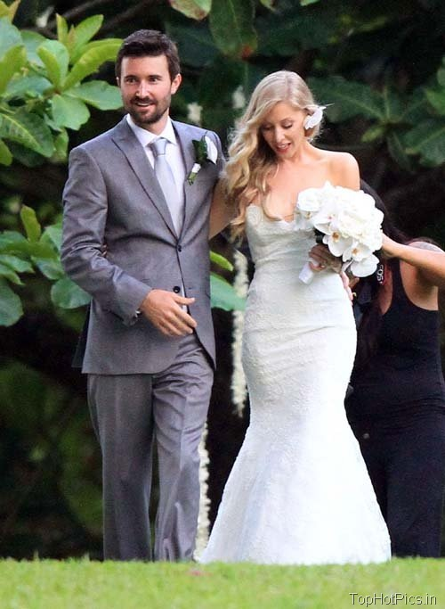 Leah Felder Hot Wedding Photos 4