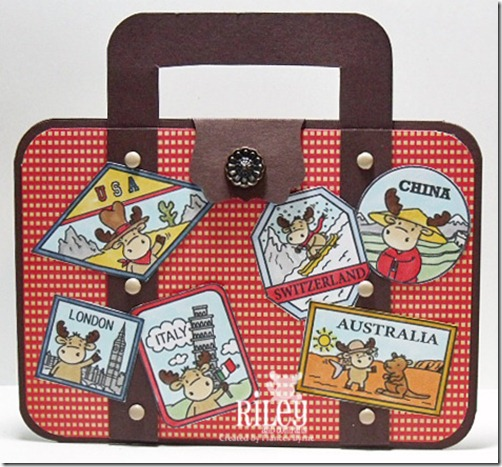 Riley Suitcase wm