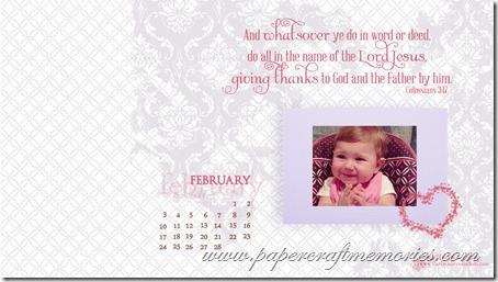 February 2013 desktop