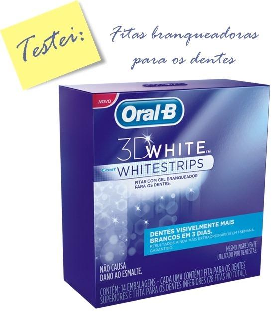 Pimenta No Teu E Refresco Fitas Branqueadoras Oral B