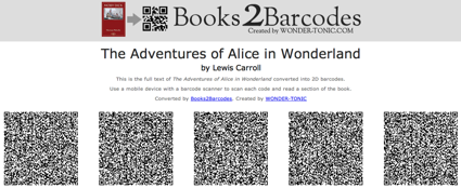 Books2barcodes