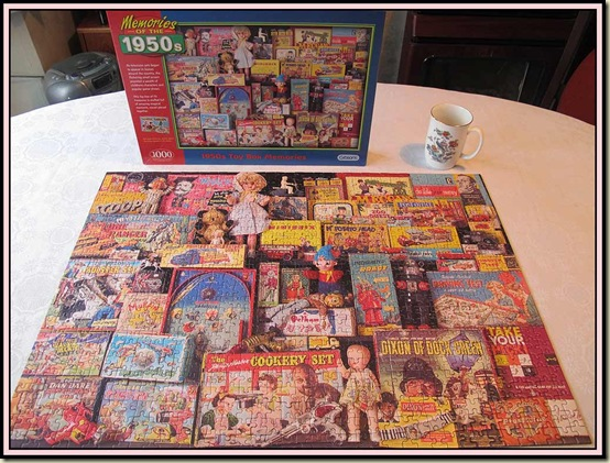 Completed 1950's jigsaw