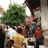Dans les rues entourant le Taj