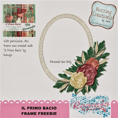 Romajo - Il Primo Bacio - Frame Freebie Preview