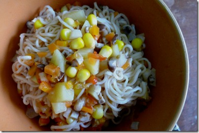 rainbow noodle