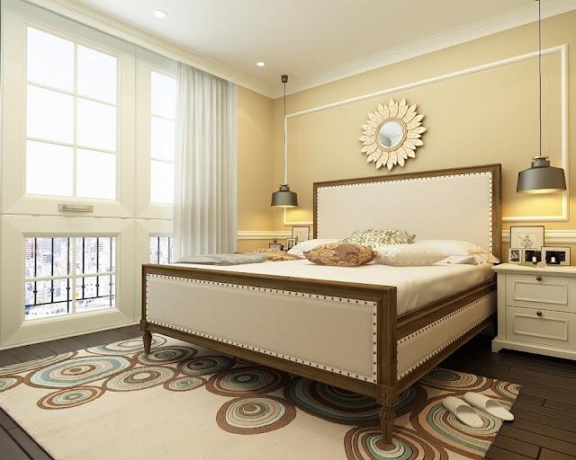Phòng ngủ master hanoi landmark 51
