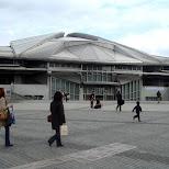 main arena in Shinjuku, Tokyo, Japan