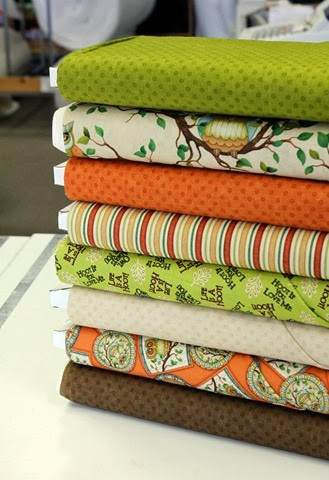 Life's A Hoot fabric via The Fabric Mill