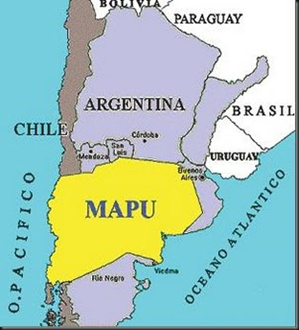MAPA-MAPUCHE