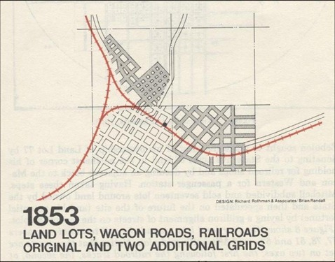 9 - Atlanta Street Grid 1853