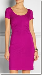 Diane von Furstenberg Bally Stretch Jersey Dress