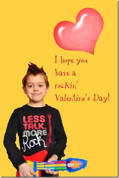 Aleck's Valentine card