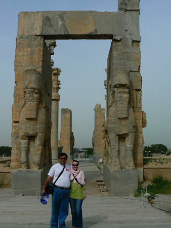 Things to see in Persepolis: Gate of all Nations