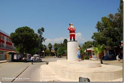 Myra, Santa Claus statue, tb062406394