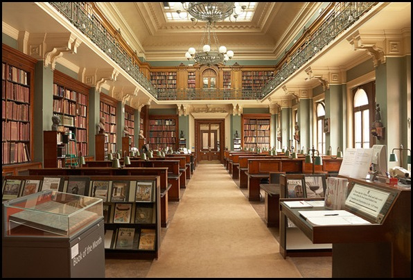 Victoria and Albert Museum, Public Library, Londres, Angleterre
