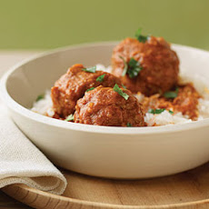 Stuffed Chipotle Meatballs