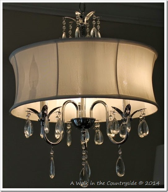 traditional yet with a touch of modern chandelier