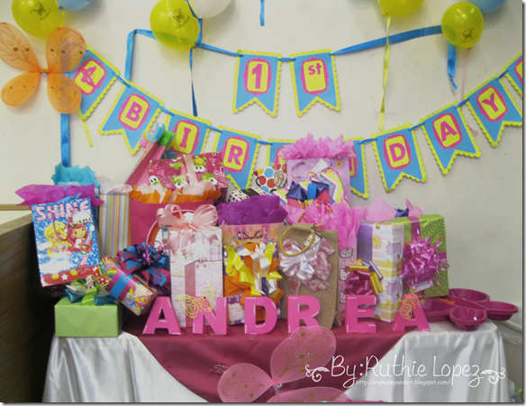 Bautizo - 1st Birthday Butterfly Themed - Butterfly Candy Bar - Baptism - Ruthie Lopez 11