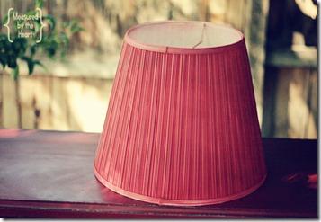 lamp shade red