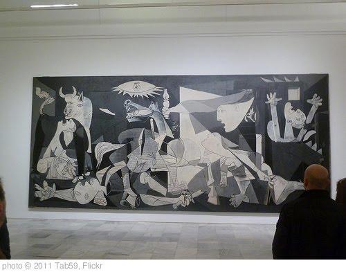 'Le fameux Guernica (1937) de Pablo Picasso au musée Reine Sofia à Madrid' photo (c) 2011, Tab59 - license: http://creativecommons.org/licenses/by-sa/2.0/