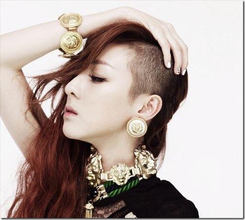 2NE1-new hair cut