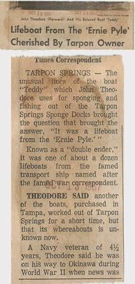 teddie boat article