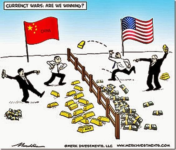 China vs USA Currency War