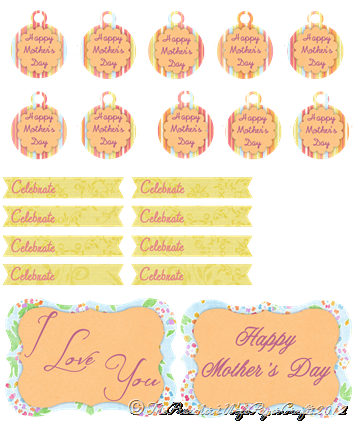 Mother's Day Brunch Tags