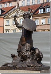 Warsaw Mermaid, Old Town, Warsaw