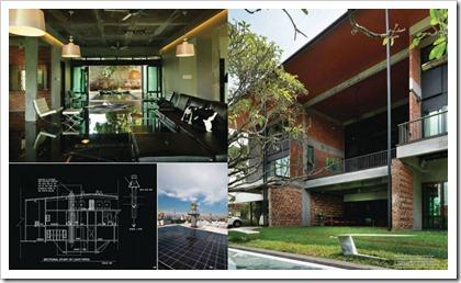 Green tropical house 2