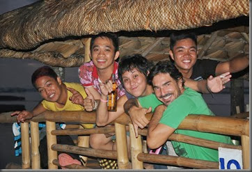 partying it up on samal island phillippines