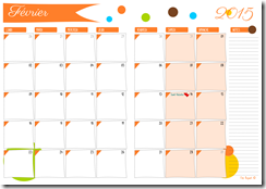 agenda mensuel - 02 fevrier 2015