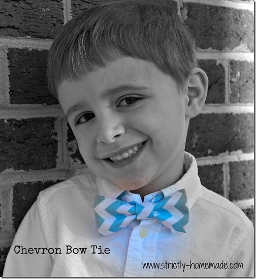 Chevron Bow Tie 1