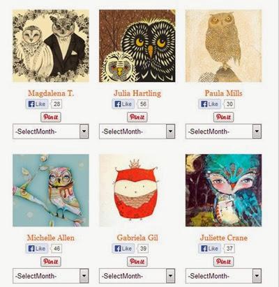 Owl Lover Calendar