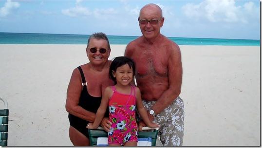 Sandy, Allan & Maisie