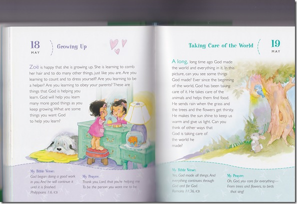 Preschool Devotional sample