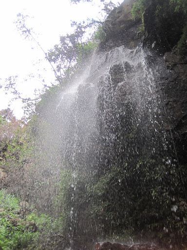 Waterfall near Villa de Leyva