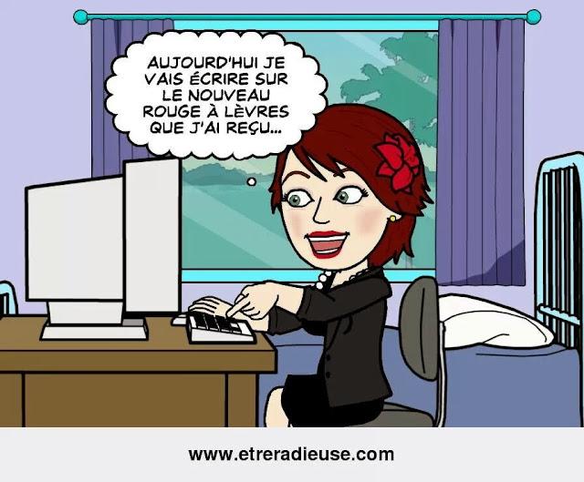 Ma vie de blogueuses en Bitstrips