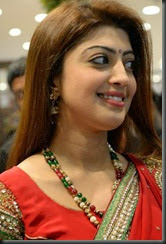 Actress Pranitha launches Kalamandir Showroom at Kakinada Photos