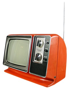 Zenith AC/DC portable television set