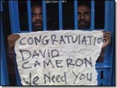 Prisoners in West Papua
