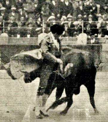 1923-10-21 The Times Chicuelo con un Miura
